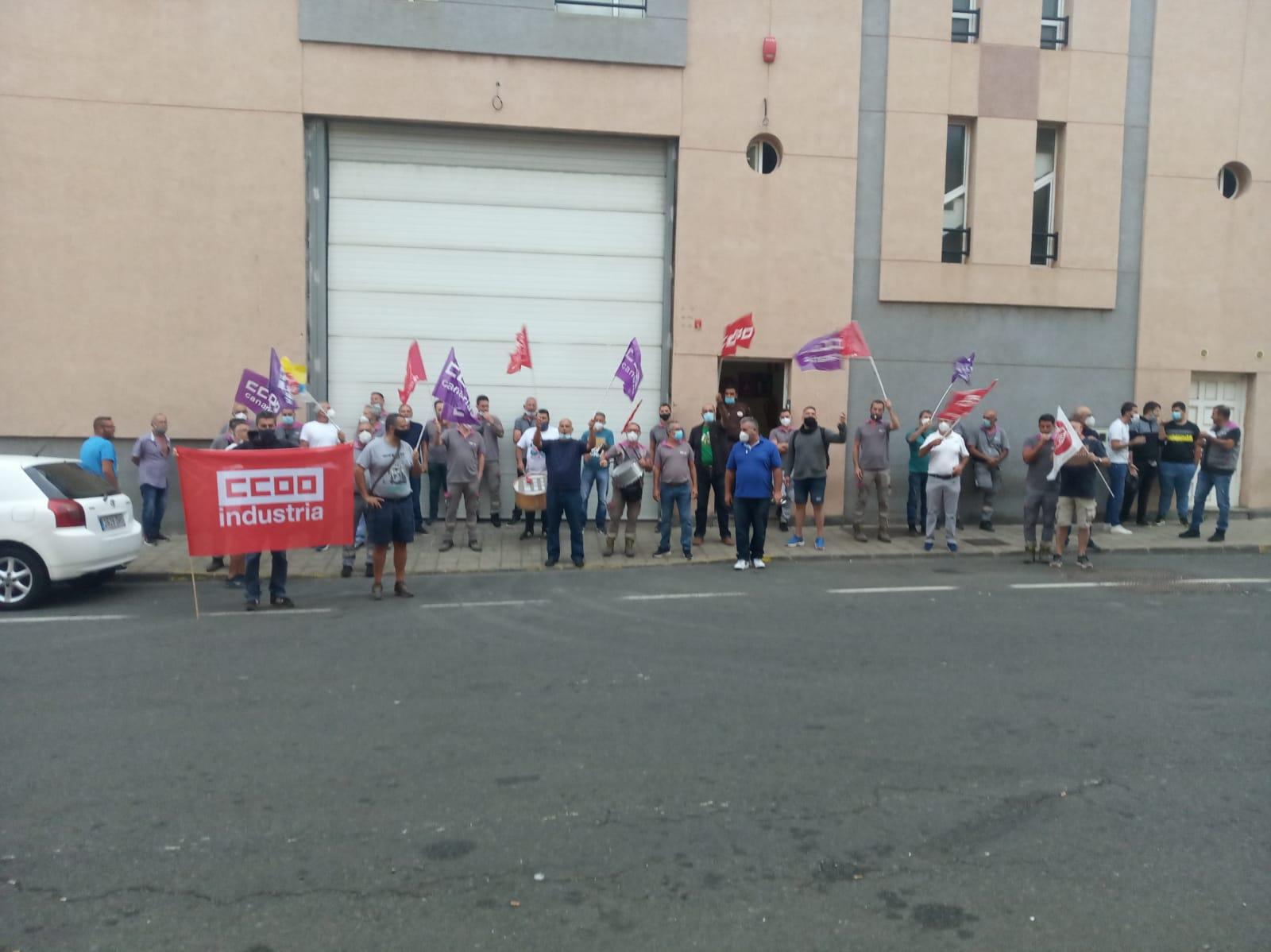 Huelga Ezentis Las Palmas
