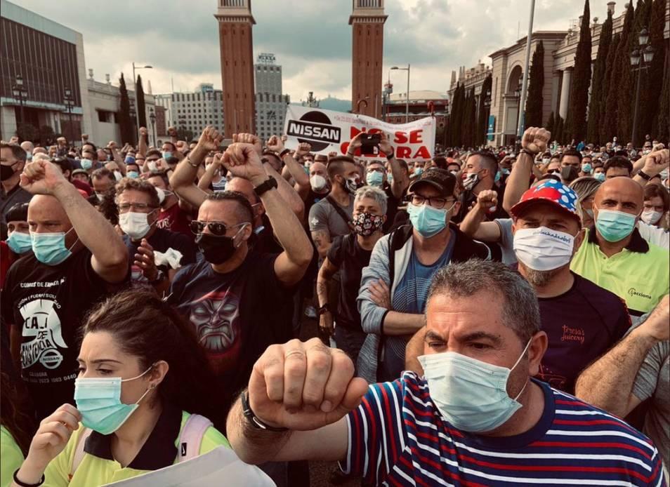 Movilizaciones Nissan Barcelona