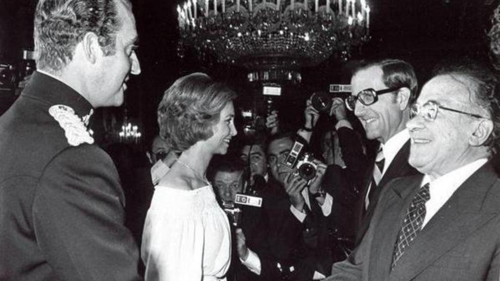 Encuentro entre Carrillo, Juan Carlos y Sofía