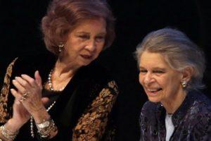 Irene de Grecia, tía de Felipe VI con la reina Sofía