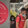 Canarias, mascarillas y distancia de seguridad