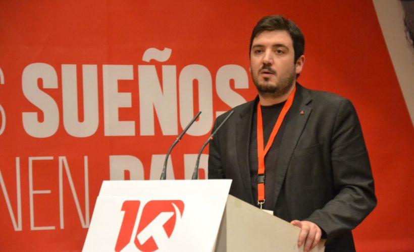 Conferencia política PCM. Álvaro Aguilera.