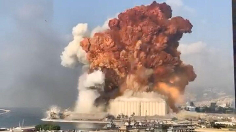 Explosión en Beirut - Líbano