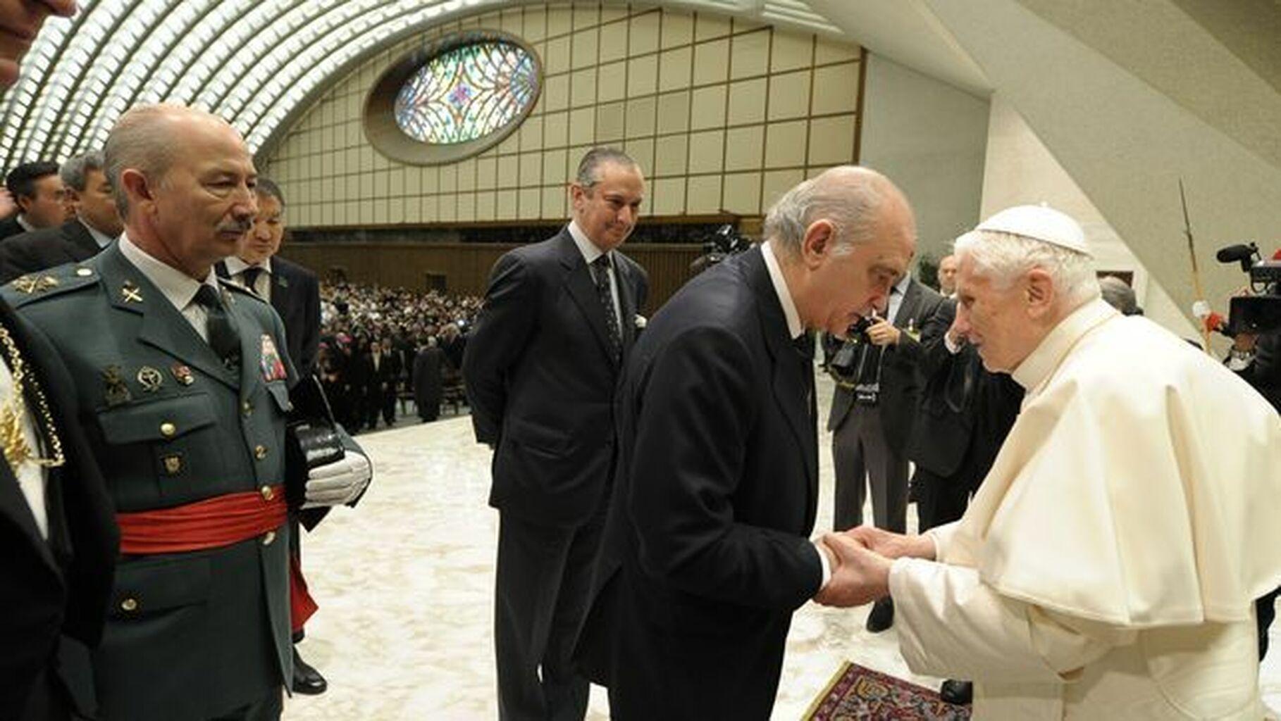 Fernández Díaz con Ratzinger