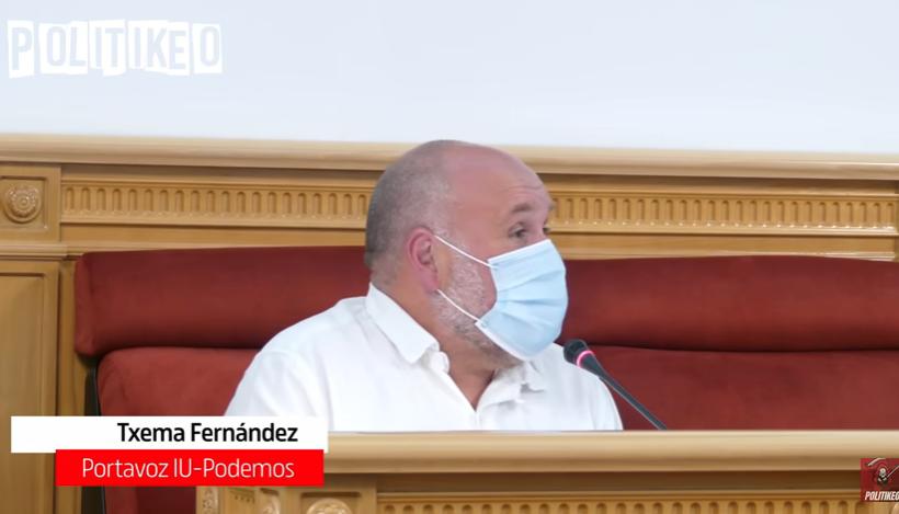 Intervencion portavoz de IU en pleno Toledo Ley Educacion