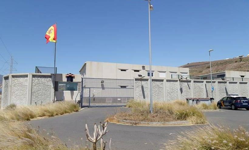 Centro de Internamiento de Extranjeros de Hoya fría en Tenerife. EFE Ramón de la Rocha