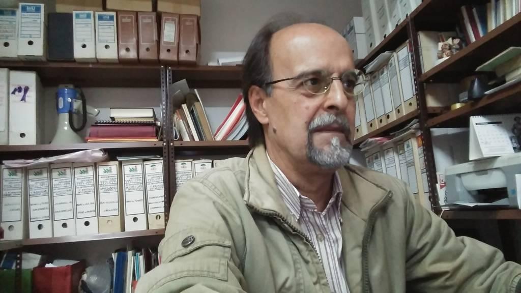 Juan Borges en la sede
