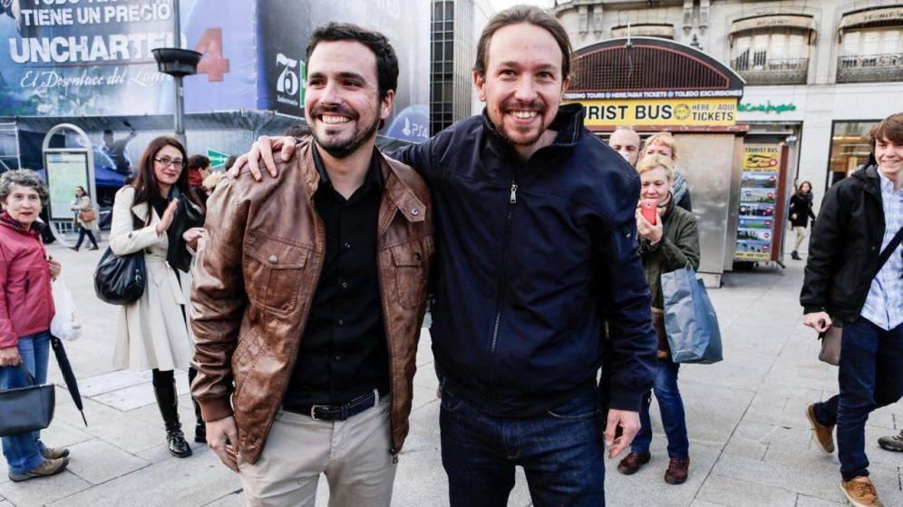 Iglesias y Garzón, juntos y revueltos. El Confidencial 09/05/2016
