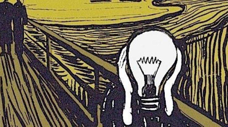 El grito y la electricidad. Fuente El Periódico