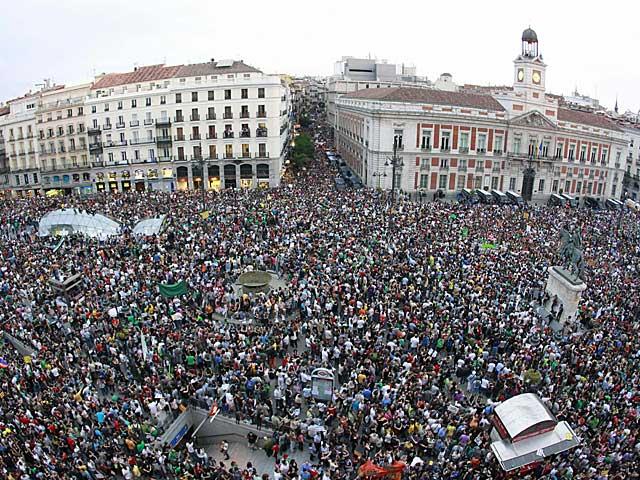 Puerta del Sol, 15M