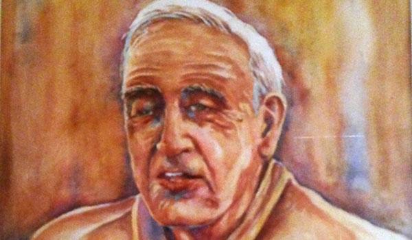 Pepe Satué retratado por Luis Van Ischott (2006)