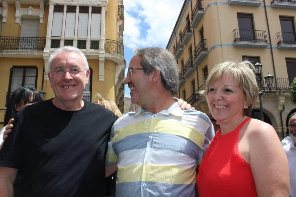 El alcalde de Zamora y Cayo Lara forman parte de la candidatura liderada por García Rubio
