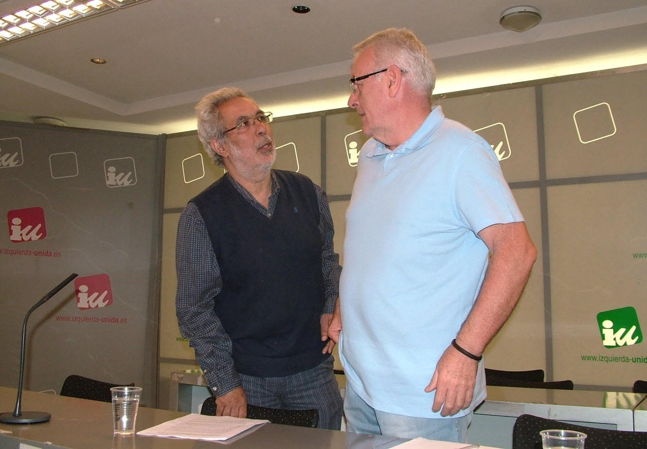 García Rubio y Cayo Lara