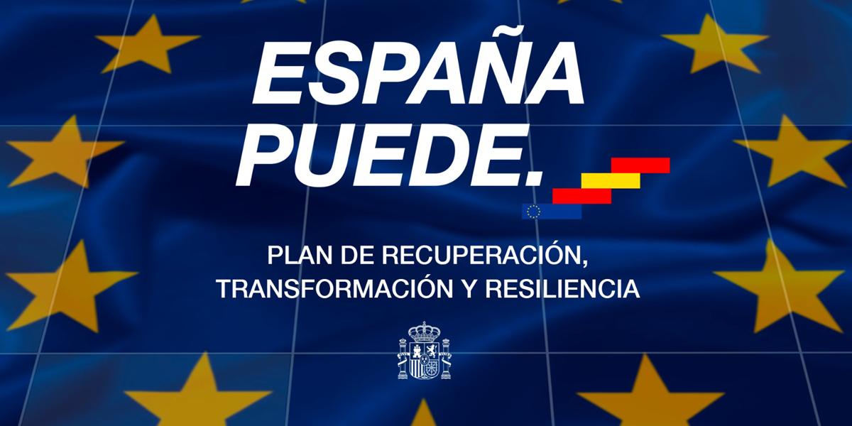 Plan de recuperación, transformación y resiliencia. Fuente: Gobierno de España
