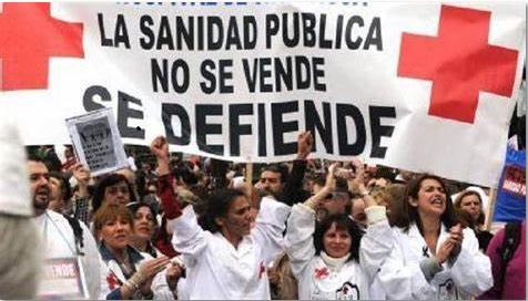 La Sanidad Pública no se vende Se Defiende. Fuente radioalmaina.org