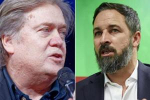 """""""Steve Bannon, exasesor de Donald Trump y Abascal"""" Fuente: El Plural, 20.08.20"""