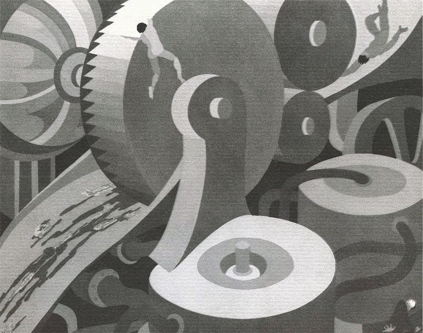 Ilustración de John Vassos, 1931