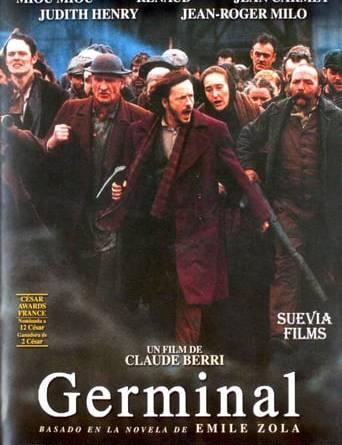 """Póster de la película """"Germinal"""""""