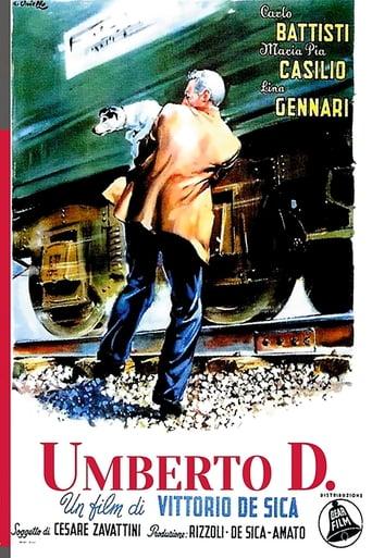 """Póster de la película """"Umberto D."""""""