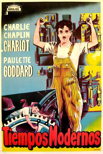 """Póster de la película """"Tiempos modernos"""""""