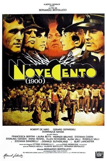 """Póster de la película """"Novecento"""""""