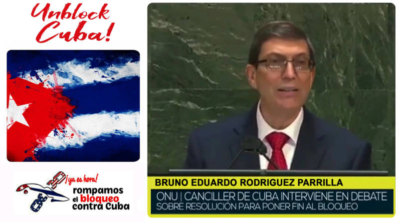 Canciller de Cuba en la ONU