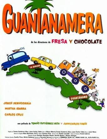 """Póster de la película """"Guantanamera"""""""