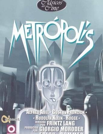 """Póster de la película """"Metrópolis"""""""