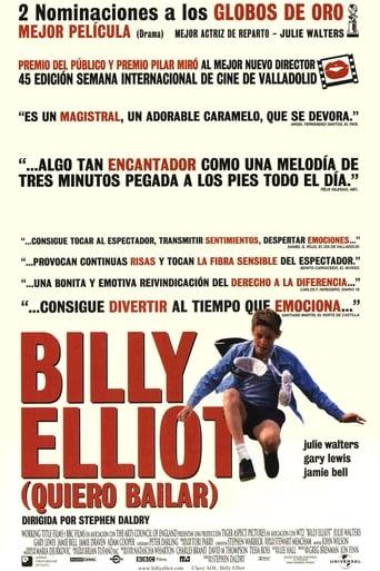 """Póster de la película """"Billy Elliot (Quiero bailar)"""""""
