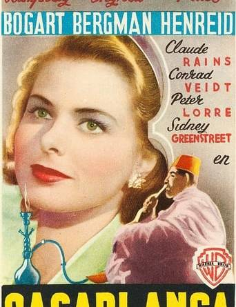 """Póster de la película """"Casablanca"""""""