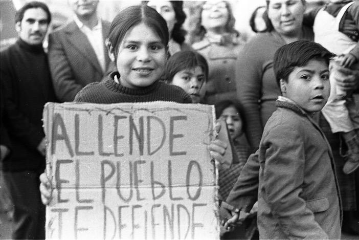 El pueblo con Allende. Fuente: RE revista emancipa.