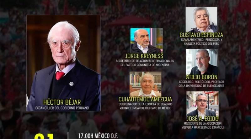Encuentro Online con el Canciller depuesto por el golpismo peruano