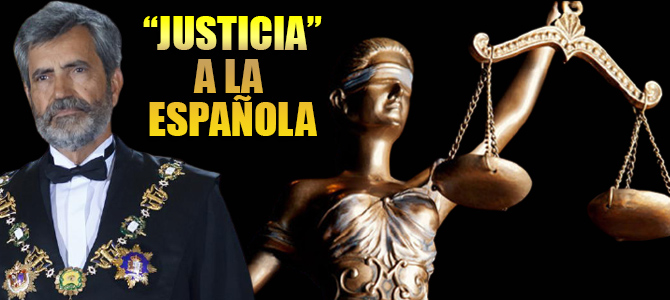 Carlos Lesmes, Presidente del Tribunal Supremo y del Consejo General del Poder Judicial. Lleva casi tres años con el mandato caducado. Fuente: Canarias Semanal 01.10.20