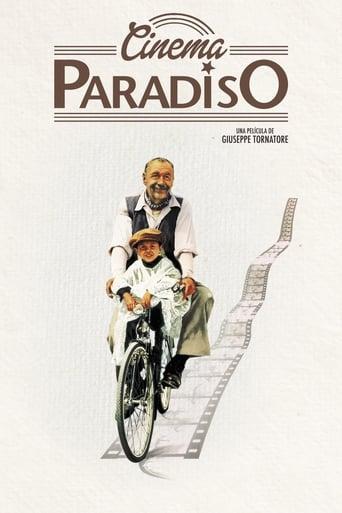 """Póster de la película """"Cinema Paradiso"""""""