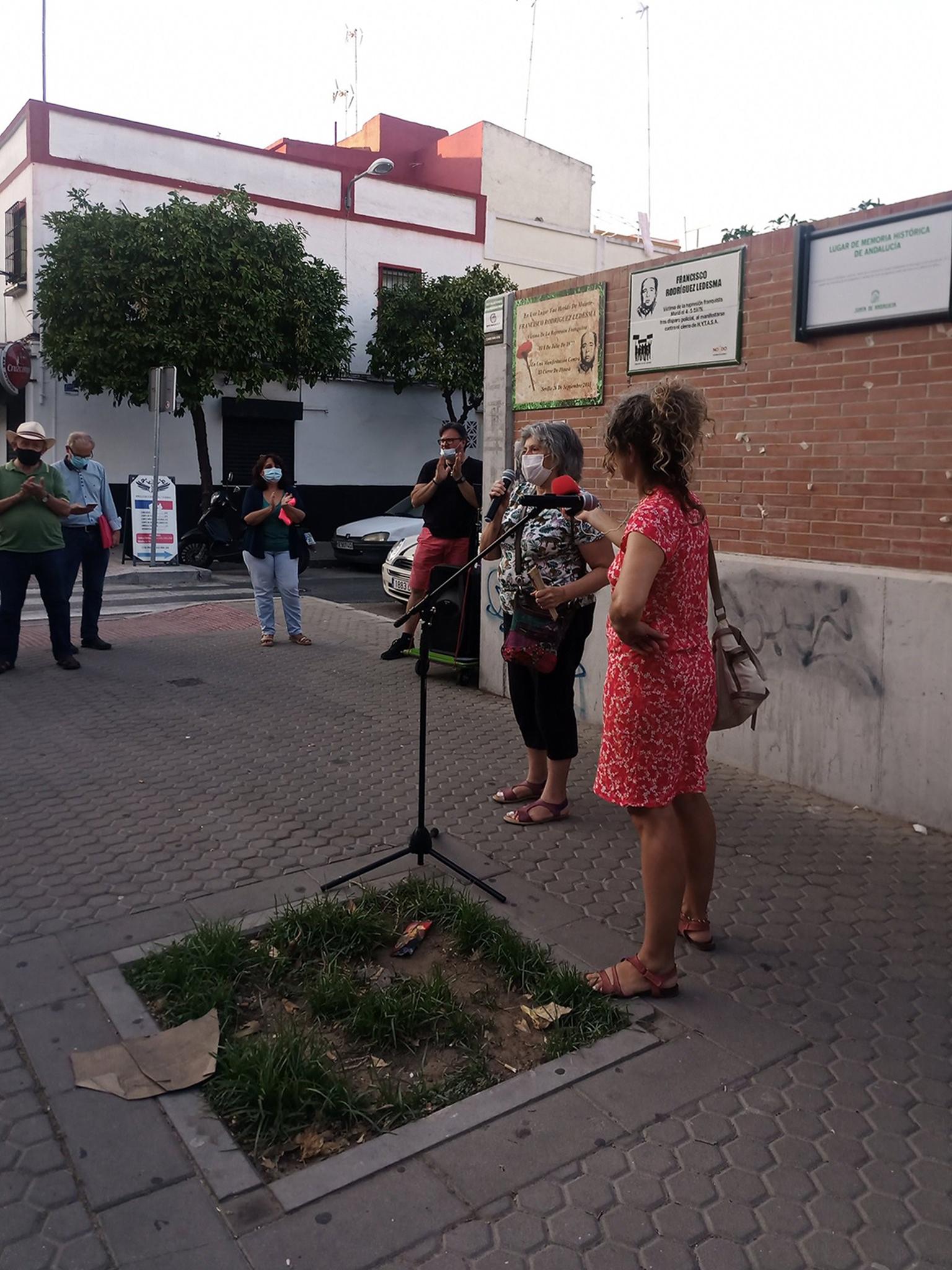 Homenaje a Francisco Rodríguez Ledesma