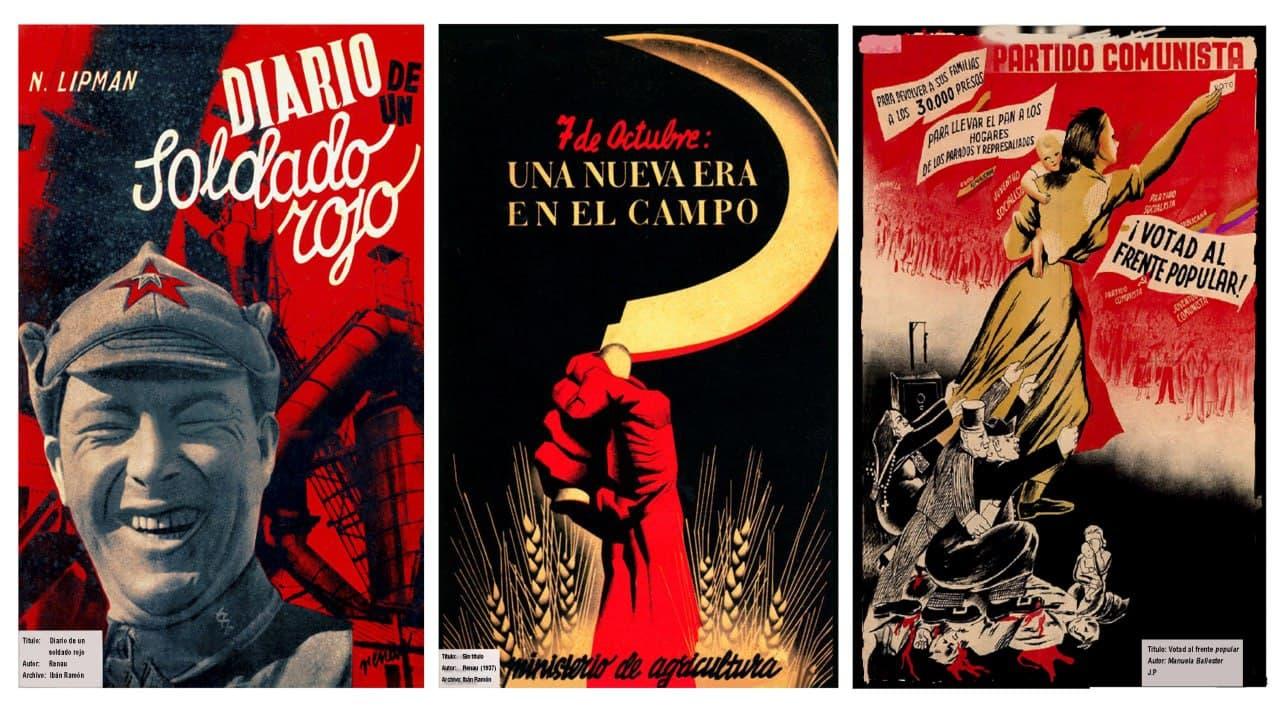 """Fuente: Exposición """"El Partido y la Cultura"""" Llíria (Valencia)."""